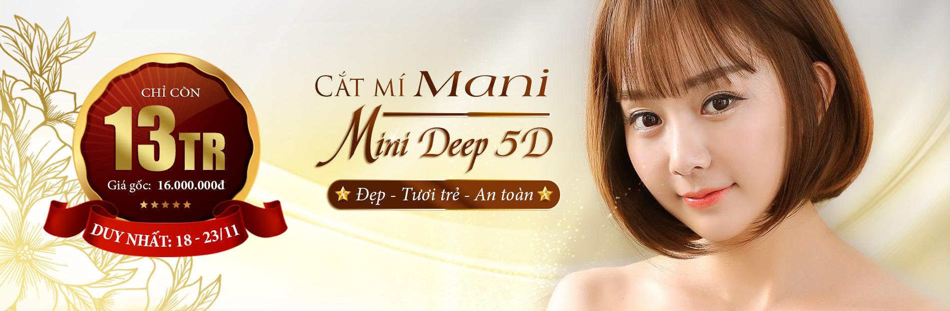 Banner Mani Mini Deep 5d