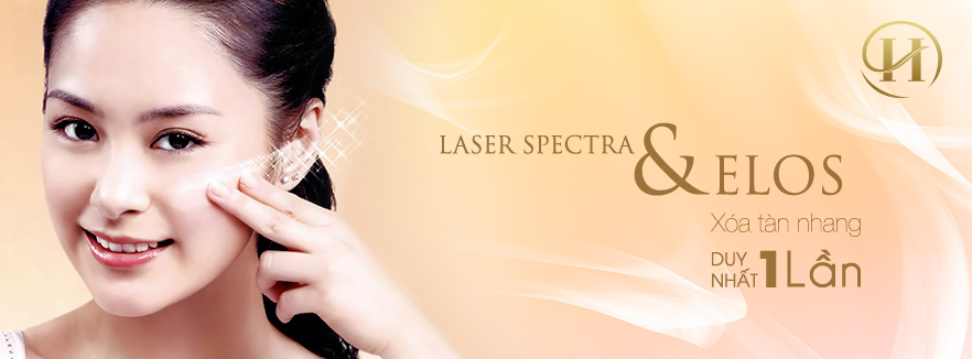 Xóa tàn nhang 1 lần với laser elos an toàn hiệu quả