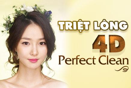 Triệt lông 4D Perfect Clean
