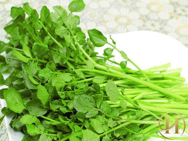 Cách sử dụng rau cải xoong để chữa trị tàn nhang