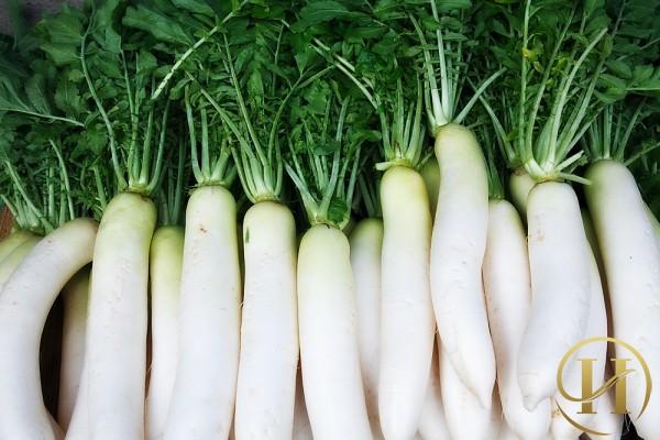 Cách trị tàn nhang bằng củ cải trắng