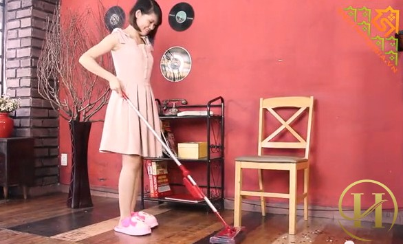 Không nên quét nhà