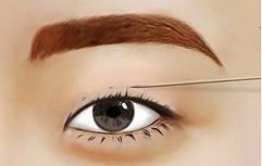 Đo vẽ mí mắt theo tỷ lệ phù hợp với gương mặt