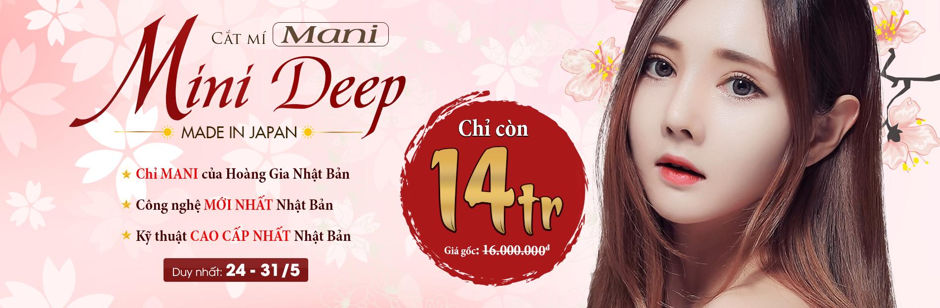 Banner Mani Mini Deep